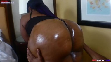 huge booty Candi Rayne taking big black cock from Don Prince on BBWHighway