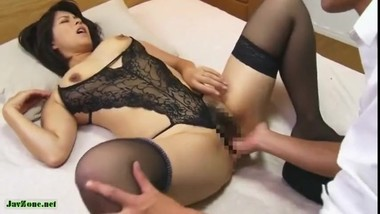 Sasayama's Aunt Started Seducing Me In Her Sexy Lingerie 2