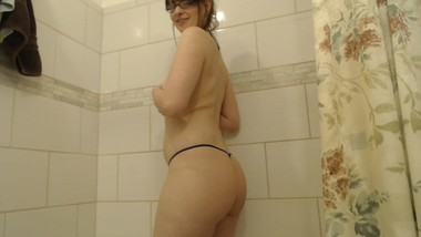 Tease you in shower