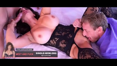 Super sweet milf mother try taboo experiments again and again!