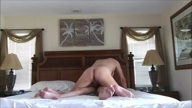 Couple is humping on bed - Austin porn
