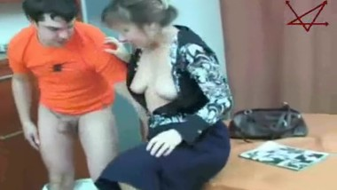 Russian Young Boy abused by MILF Step-Mom