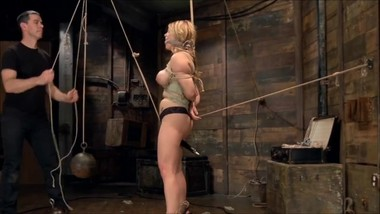 Slavegirl - Blond Big Boobs domination
