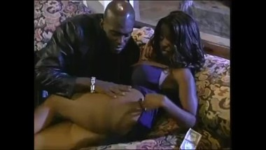 Ebony Milf Enjoying Sex