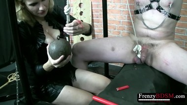 FrenzyBDSM Hot Bondage and Wax Domination Video