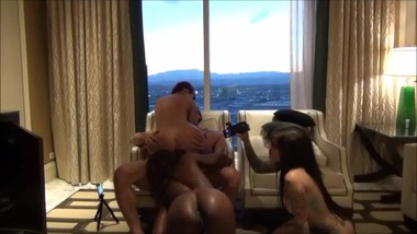 Ana Foxxx Sovereign Syre Birthday Orgy! Full!