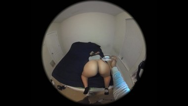 Huge Ass Filled with Cum - Ebony Round Ass Anal