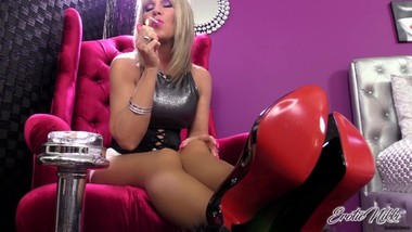 Nikki Ashton - When I Feed your Addiction - JOI