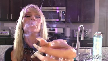 Nikki Ashton - Controlling your Cock With Smoke - JOI
