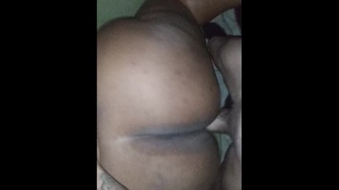 Huge black azz taking dick