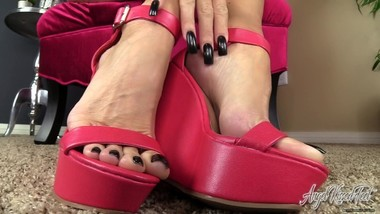 Nikki Ashton - Life is Meaningless Without My Feet - Feet JOI