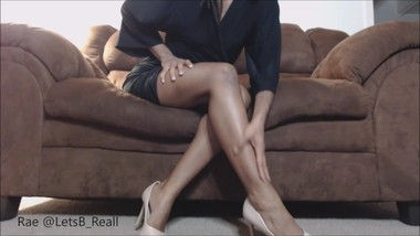 High Heeled Brown Legs JOI