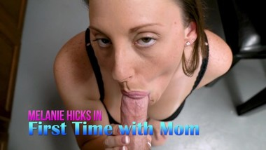 Melanie Hicks in First Time Sex with StepMom - After a Run