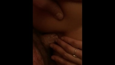 POV Her first time anal