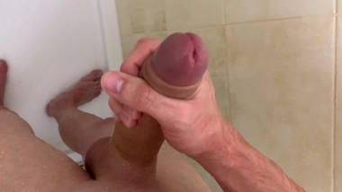 Teen boy Jerking Off in the Shower, Please do not tell my Mom ! /EXCLUSIVE