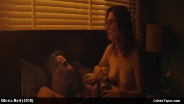 Celebrity Julianne Moore nude and romantic sex video