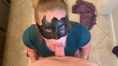 Bathroom Blowjob - I Gave Myself A Facial With His Cock