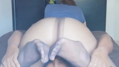 Pantyhose Sex Slave,Screaming Orgasm, 69 Sex , Hard Fast Fucking,Nylon Feet