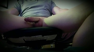 Strong Kegel and a little touching :)