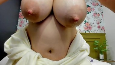 Cam Model Lactating Her Soft Milky Tits