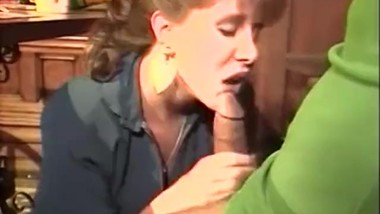 Retro Blowjob Under the Table