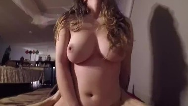 Loving Couple Fuck, Titty Bouncing Cum