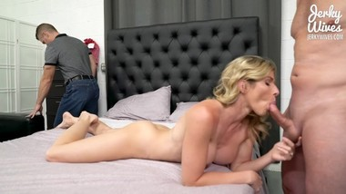 Cory Chase in Fucking My StepBrother and Husband - Threesome