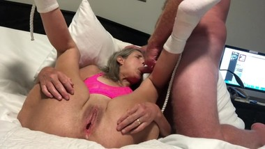 Granny Milf Fucks, blows and gets Creampie Mature Gilf