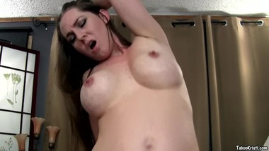 Pregnant Mommy Needs Her StepSon's Attention and Cock-Taboo Kristi Fauxcest