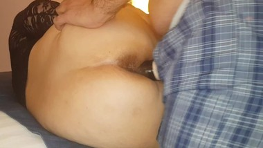Step Mom Fucks One Last Time Step Son in the Hotel Room
