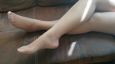 Pantyhose Feet Lovers, Nylon Feet and Soles, Jerk off Instructions.
