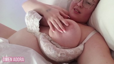 Suckling on Mommy's big titties before bed, and getting hard - TRAILER