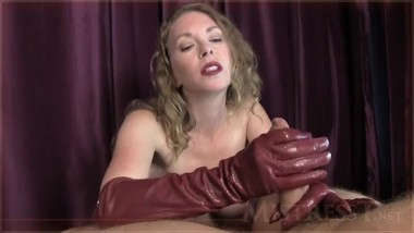 leather gloves joi