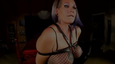 Chassidy Lynn -Smoking BDSM Chair Fuck/ Cum Shot