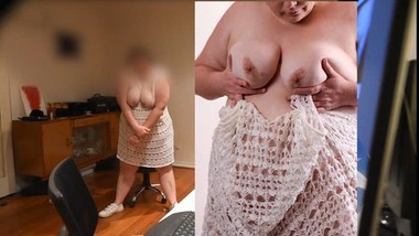 BROTHER PHOTOGRAPHS CUTE BBW STEP SISTER WHILE SHE FINGERS HERSELF