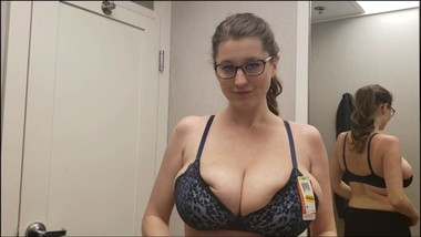 Trying on Bras with Stepmommy in Public