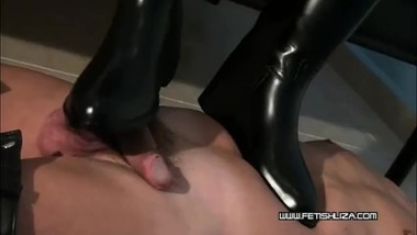 New riding boots mistress