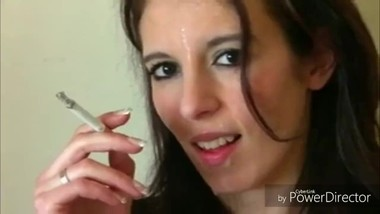Smoking Facial Compilation