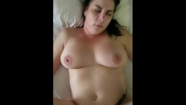 Big tits on tattooed MILF. Homemade fun!