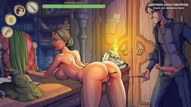 Wild sex with a milf witch My sexiest gameplay moments Innocent Witches #1