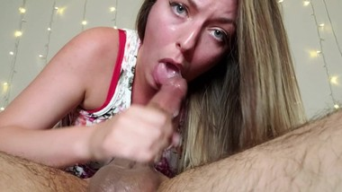 Close up Blowjob