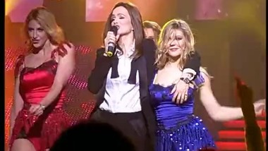 Severina in serbian concert