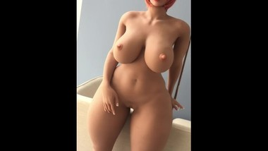 sexy big boobs huge tits sex dolls with red hair