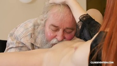 Charli Red - Stepgranddad having the time of his life