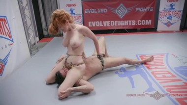 Lauren Phillips Nude Wrestling Loser Fucked in the Ass - Evolved Fights