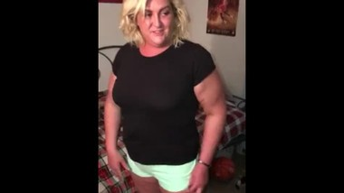 Stepmom jewls teasing her stepson while she's speeding