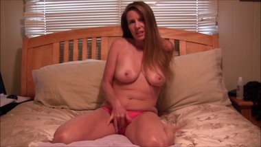 Dirty Little Fuck Toy Masturbating and Panty Stuffing