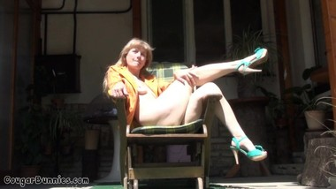 Rocking the Chair in May - the Masturbation May, outdoors Delta V playing.