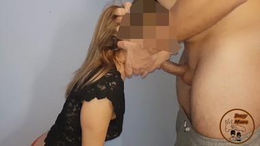 THROBBING ORAL CREAMPIE #2, PETITE TEEN DEEPTHROAT FUCK
