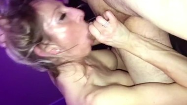 Horny Housewife Blowjob and Double Creampie Spitroast -- XXX Cumplay